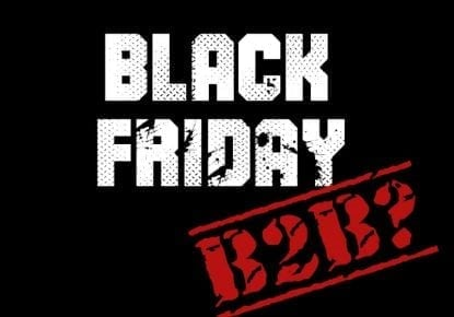 is black friday for b2b too