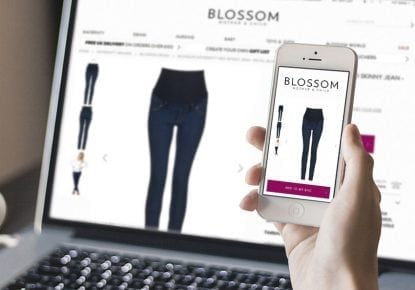 Williams Commerce launches Blossom's new Magento ecommerce website