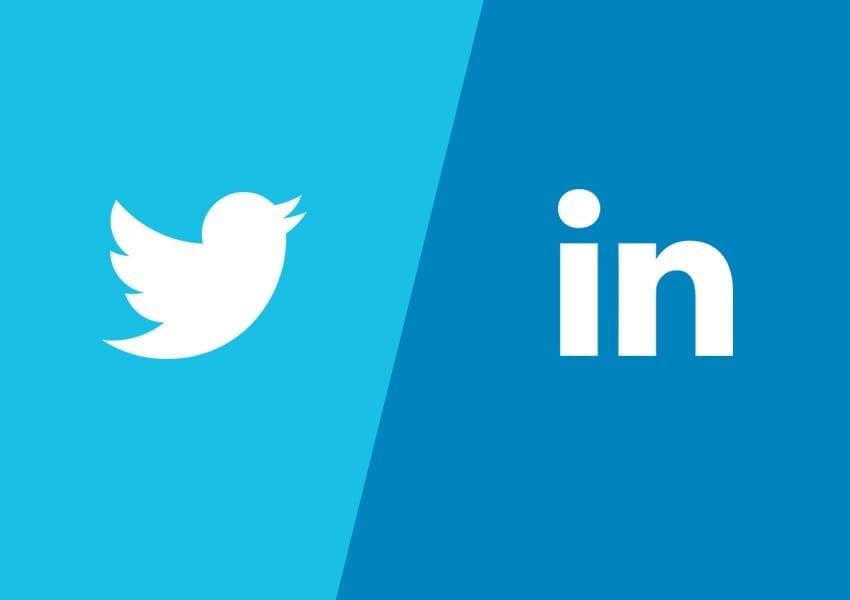 Social media updates for 2014 on Linkedin and Twitter