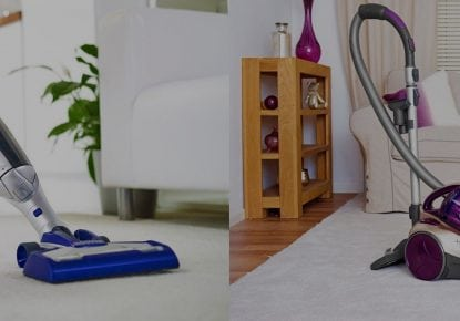 direct vacuums products in banner