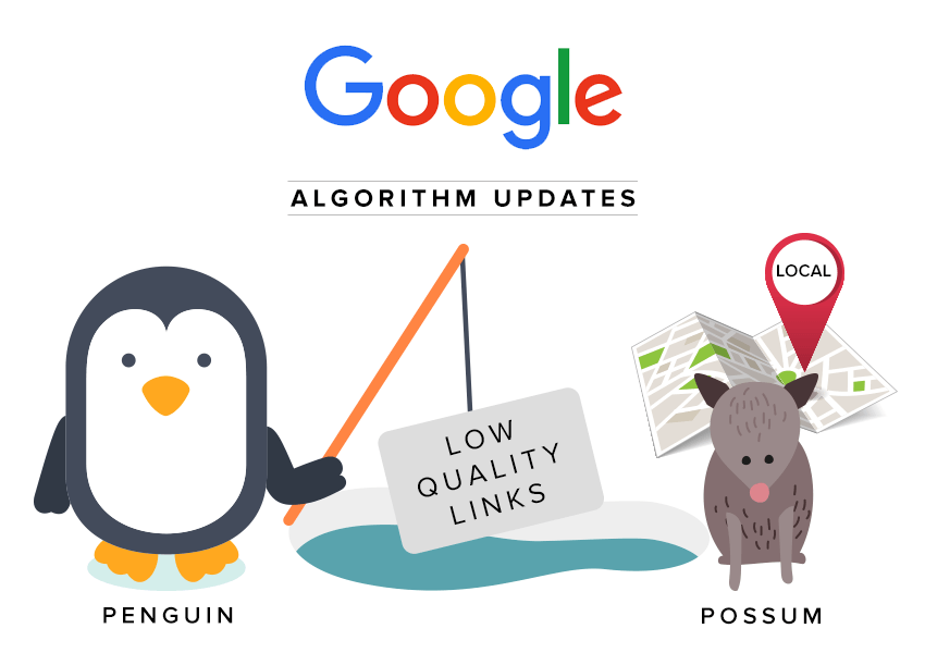 What You Need to Know About Penguin and Possum, The Latest Google Updates