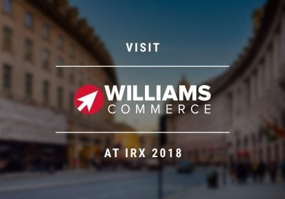 Visit Williams Commerce at the 2018 Internet Retailing Expo Event