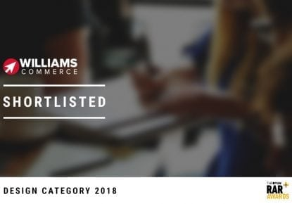 Williams Commerce Shortlisted for the 2018 RAR Awards