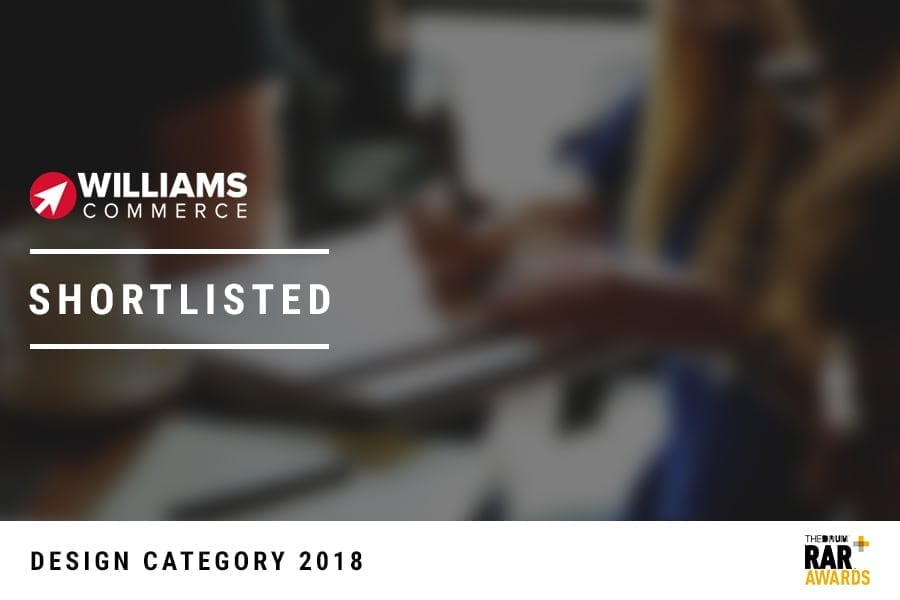 Williams Commerce Shortlisted with out of focus background