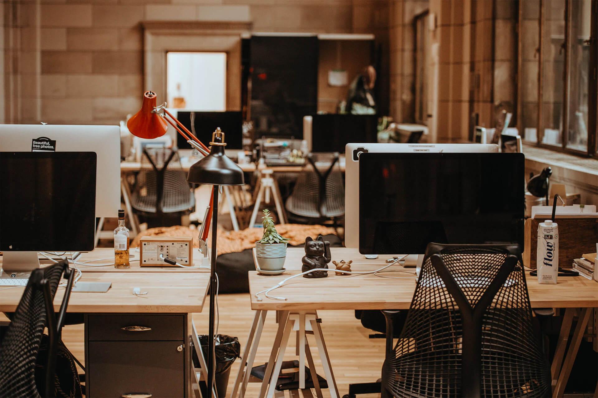 Creative office environment