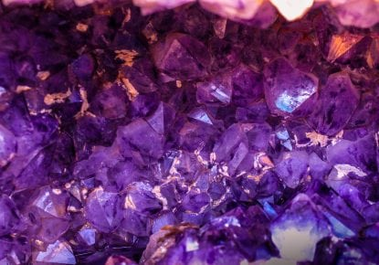 Stylish Purple crystals