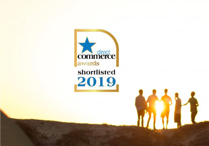 Direct Commerce Awards 2019, on sunset background
