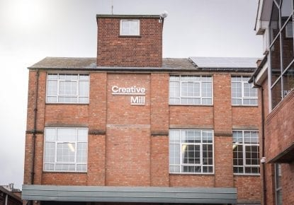 Creative Mill in Leicester, headquarters of Williams Commerce