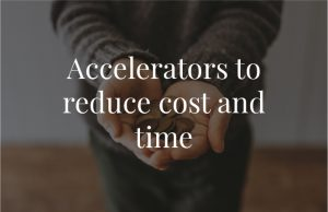 Accelerators to reduce cost and time@2x