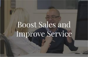 Boost Sales and Improve Service@2x