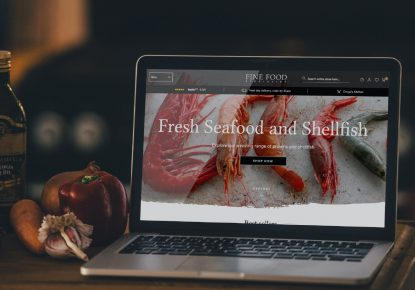 New Fine Food Specialist on a laptop