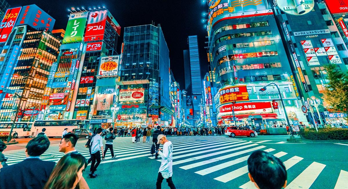 billboards in Japan
